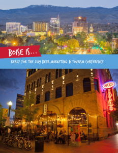 2019 Beer Marketing & Tourism Conference will be in Boise, Idaho